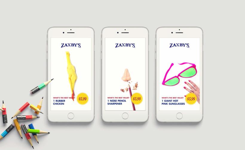 Zaxby's: Promotional Snapchat Ads
